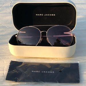 Marc Jacobs Aviator Sunglasses w/Case